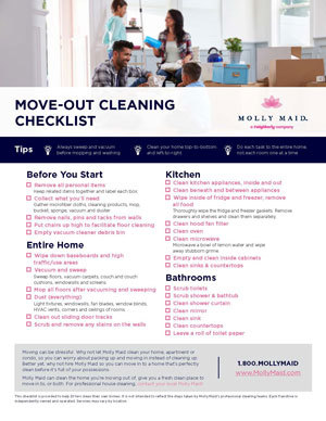 Move Out Cleaning Services | Molly Maid