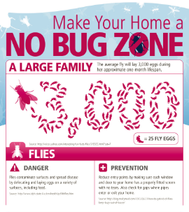 No Bug Zone Infographic