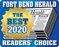 Fort Bend Herald Readers Choice Best of Logo 2020