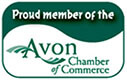 Avon Chamber of Commerce badge