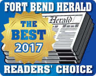 Fort Bend Herald Readers Choice Best of Logo 2017