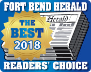 Fort Bend Herald Readers Choice Best of Logo 2018