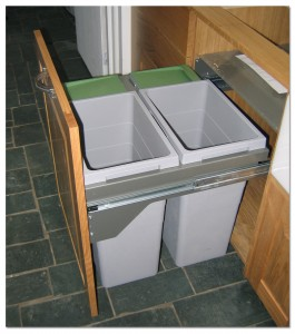 Installed-Kitchen-Trash-Recycling-Bins