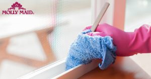 Oneupweb_MollyMaid_How To Clean Dirty Window Tracks_Blog Hero _20170228