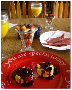 You are special breakfast spread