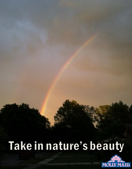 take in nature's beauty
